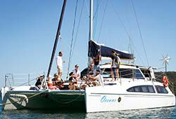 OCEANS 38' Seawind 1160 Deluxe Catamaran New Year's Day Charter