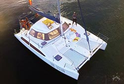 ONE OCEAN 32' Seawind Sailing Catamaran Private Charter