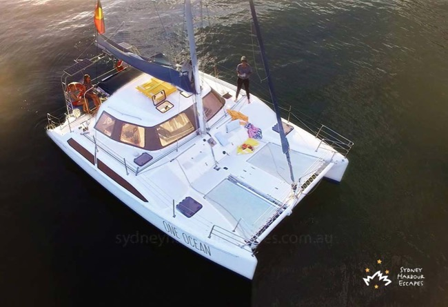 ONE OCEAN 34' Seawind Sailing Catamaran Corporate Charter