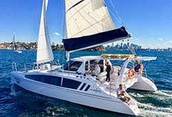 PEGASUS New 38' Seawind 1160 Corporate Catamaran Charter