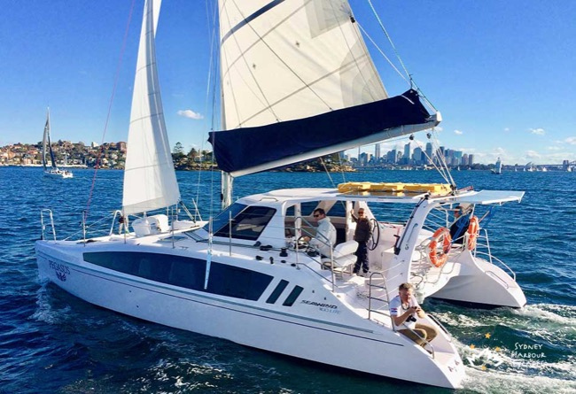 PEGASUS 38' Seawind 1160 Corporate Catamaran Charter