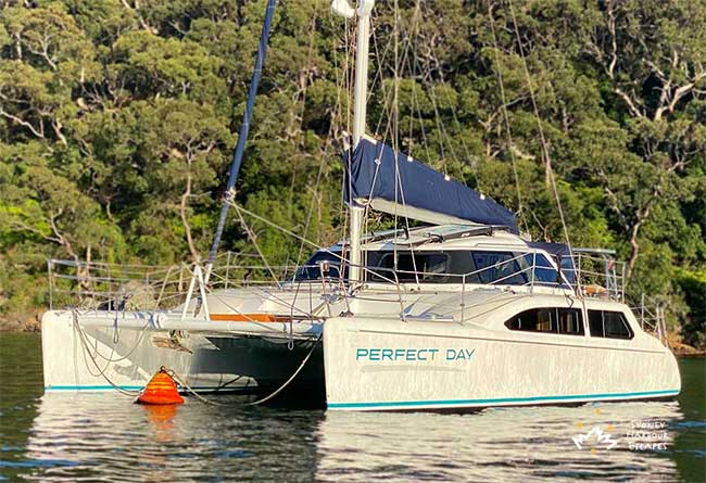 PERFECT DAY 34' Sailing Catamaran Private Charter
