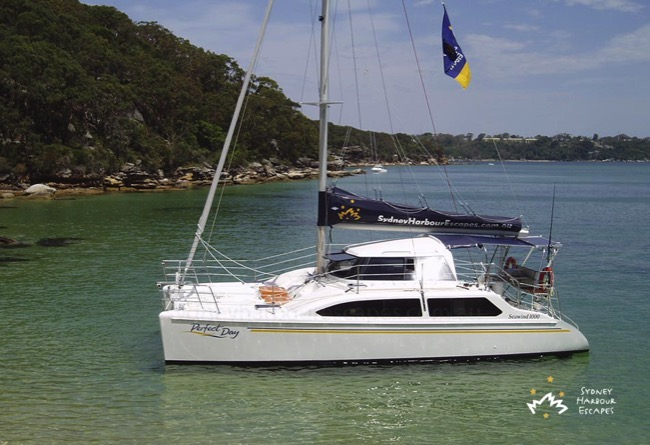 Seawind Anchored
