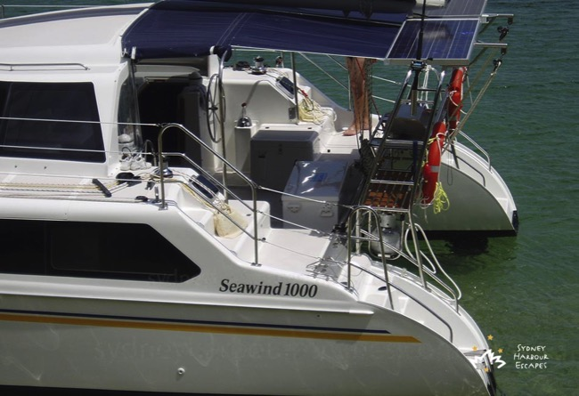 Seawind Back View