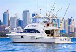 PISCES  56' Riviera Open Flybridge Luxury Boxing Day Charter