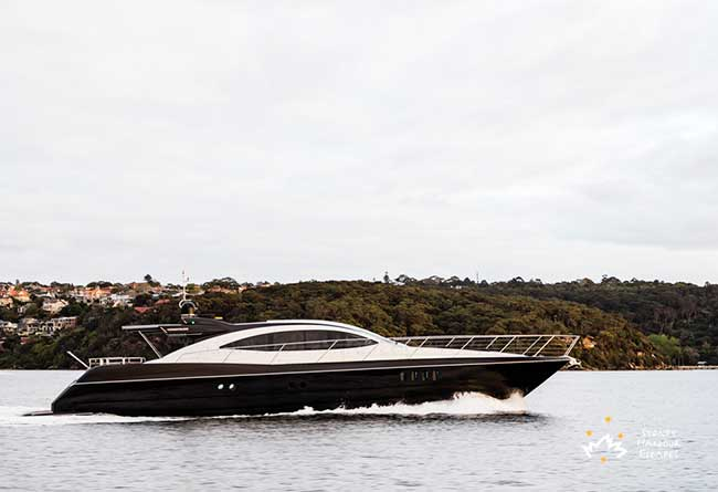 PRIVACY 87' Luxury Private Charter Boat