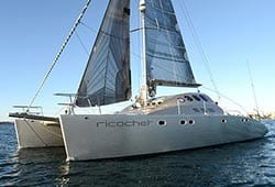 RICOCHET 47' Sailing Catamaran Boxing Day Charter