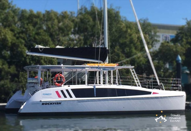 ROCKFISH 3 38' Seawind Catamaran Corporate Charter