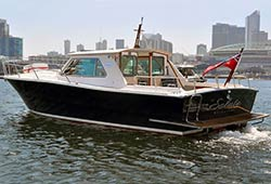 MV SALUTE 32' Motor Vessel Private Charter