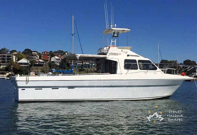 SEA EAGLE 43' Australia Day Boat Charter Sydney