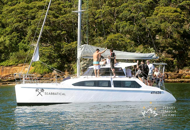 SEABBATICAL 34' Sailing Catamaran Corporate Cruise