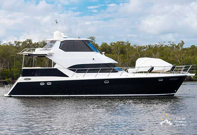 SEAS THE DAY 60' Motor Vessel Corporate Charter