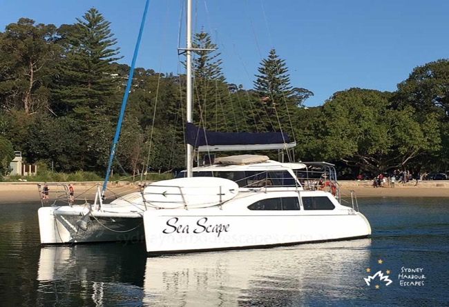 SEASCAPE Seawind 1000 Catamaran Corporate Charter