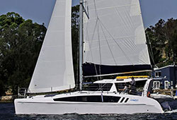 SERENDIPITY 41' Sailing Catamaran Wedding Charter