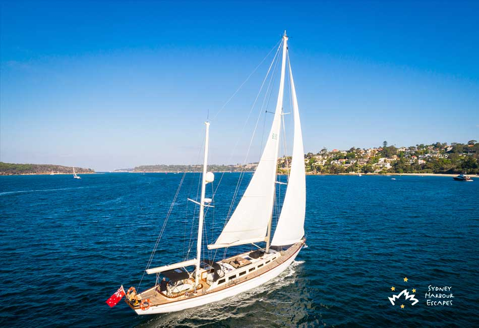 SIR THOMAS SOPWITH 72' Luxury Sailing Corporate Charter