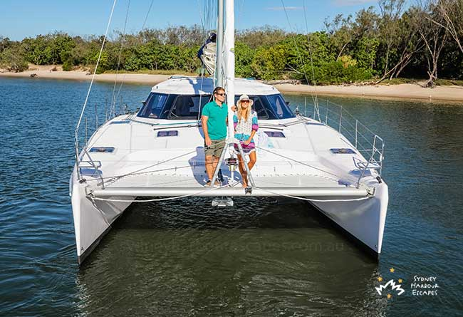 SOUTHERLY BREEZE 41' Sailing Catamaran New Years Eve Charter