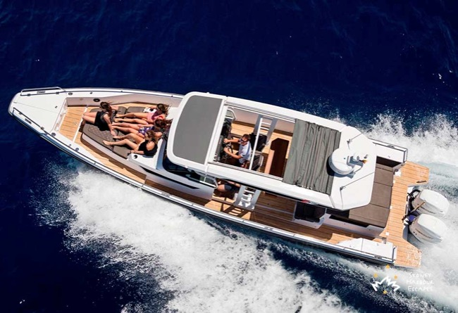 SPECTRE 37' Axopar Sun Top Private Charter