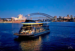 STARSHIP SYDNEY 144' 3 Level Cruising Venue Boxing Day Charter