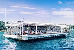 THE ISLAND Exclusive Floating Pontoon Boxing Day Venue