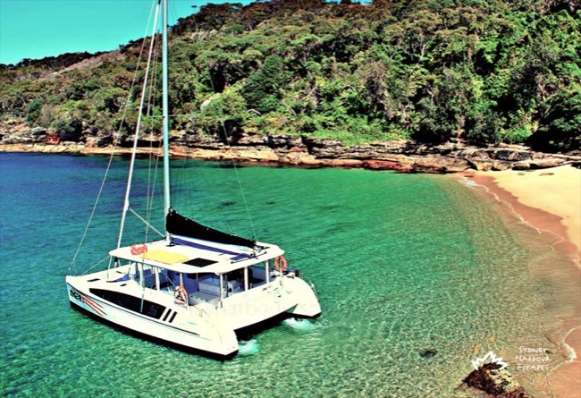 TIGER 3 38' Sailing Catamaran Australia Day Charter