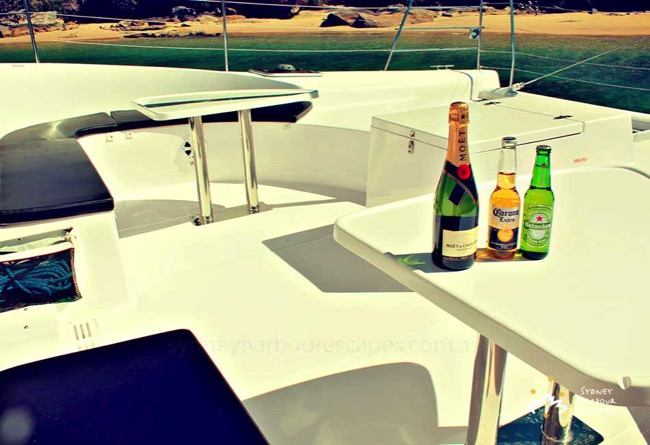 Tiger 3 Drinks on the Boat
