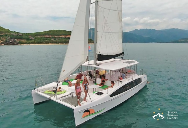VARUNA 38' Seawind 1160 Resort Sailing Australia Day Catamaran