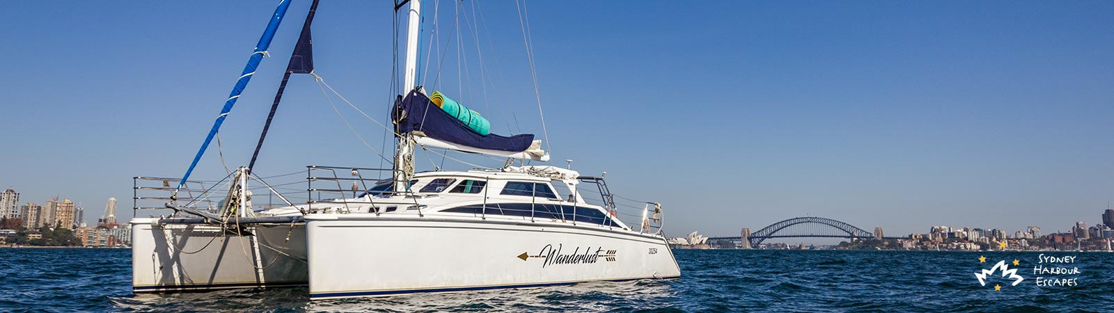 Wanderlust Anchored on Harbour
