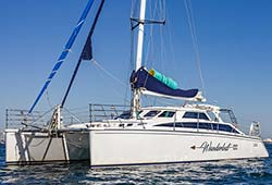 WANDERLUST 43' Catamaran New Years Day Cruise