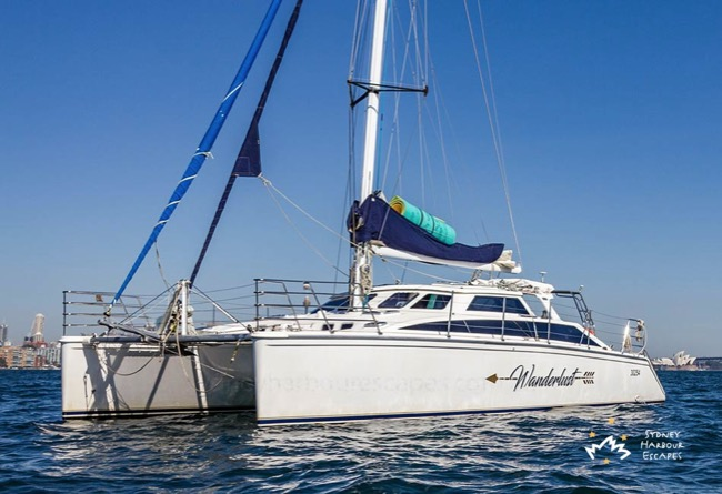 WANDERLUST 43' Catamaran Corporate Charters