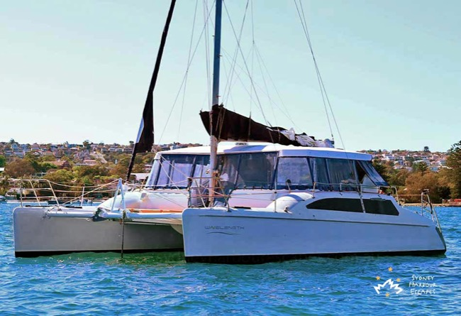 WAVELENGTH 34' Seawind 1050 Catamaran Corporate Charter
