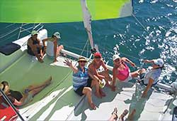 Wave Length Guest Enjoying