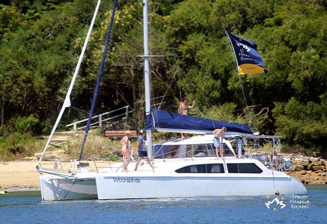 WOORABINDA 34' Seawind Sailing Catamaran Corporate Charter