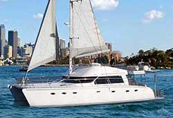 ADELINA 50' Boxing Day Catamaran Charter