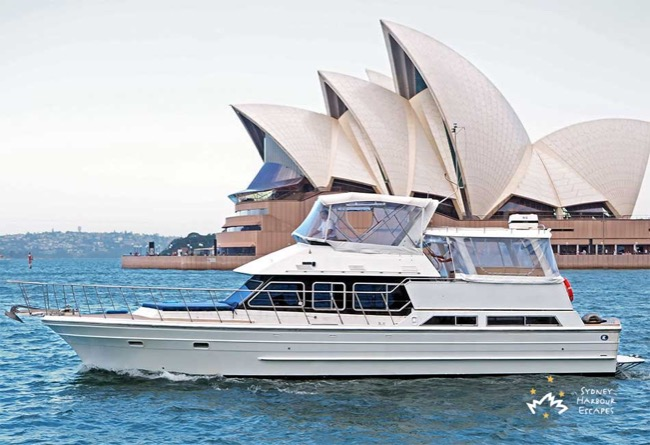 AMBIANCE 52' Ranger Sydney Harbour Corporate Charter