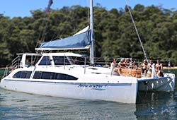AMOUR DE LA MER 38' Seawind 1160 Private Catamaran Charter