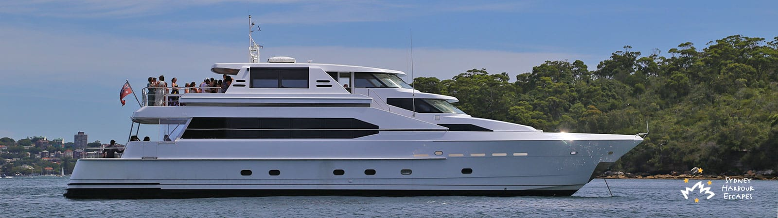Aqa Boat Hire Luxury Super Yacht Charter Sydney Harbour