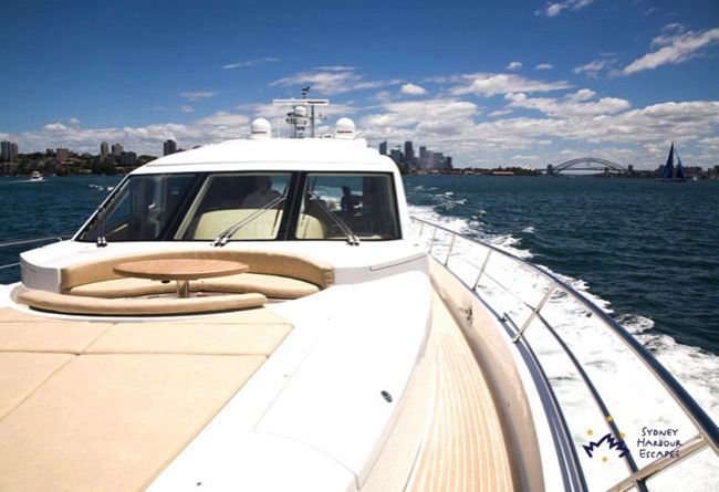 Aquabay Sydney Harbour boat hire