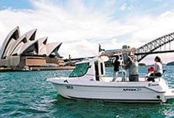 20' POWER ARVOR Half Cabin Cruiser Self Drive <br> Boat Licence Required