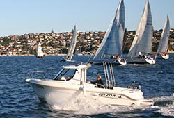 Arvor Rose Bay self drive boat