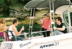 Arvor picnic private boat hire