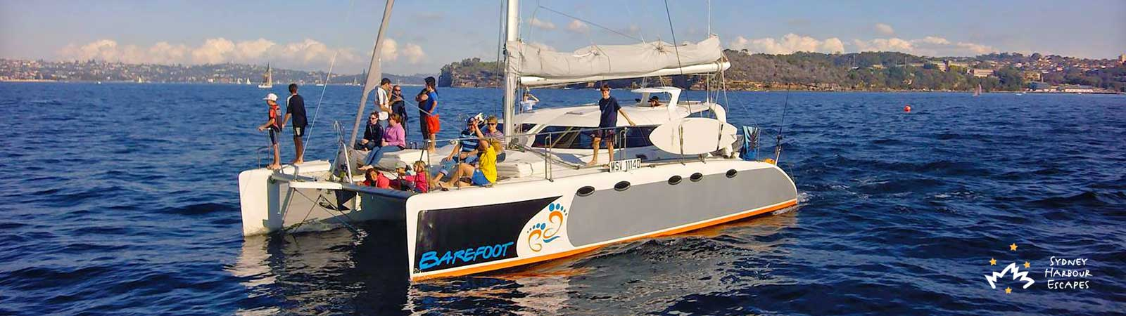 Barefoot Boat Hire - Private Boat Charter - Sydney Harbour