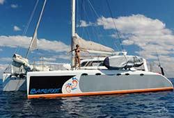 BAREFOOT 40' Luxury Sailing Catamaran Boxing Day Charter