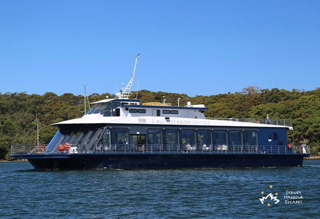 BELLA VISTA 114' 2 Level Australia Day Cruising Venue