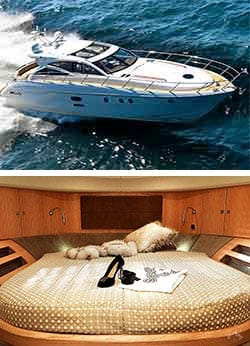 BIRCHGROVE 50' Luxury Sports Yacht Overnight Charter