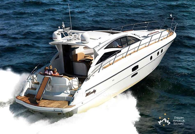 BIRCHGROVE 50' Luxury Sports Yacht Skippered Charter