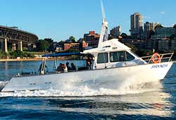 BRYNDA 42' Power New Years Eve Charter Boat Sydney