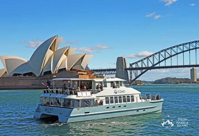 COAST 65' Twin Deck Luxury Catamaran Australia Day Cruises