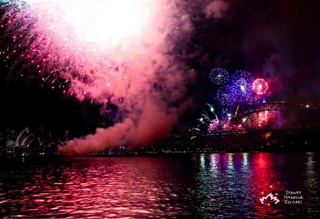 Coast NYE 2016 Harbour Bridge