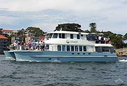 Coast party boat