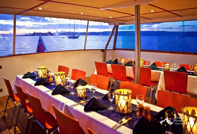 Commissioner dining cruise